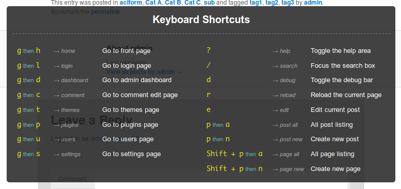 keyboard-nagivation